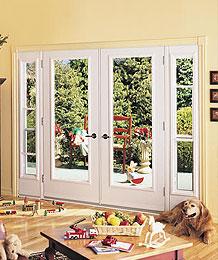 Garden Doors - Clear